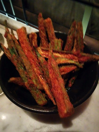 Crispy Okra to munch