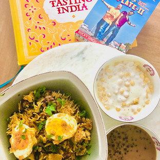 Of Food walks and Egg Biryani ..deliciously Andhra Style