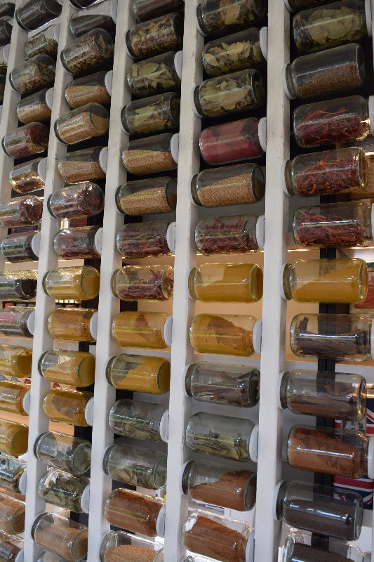 Spice racks at Kew