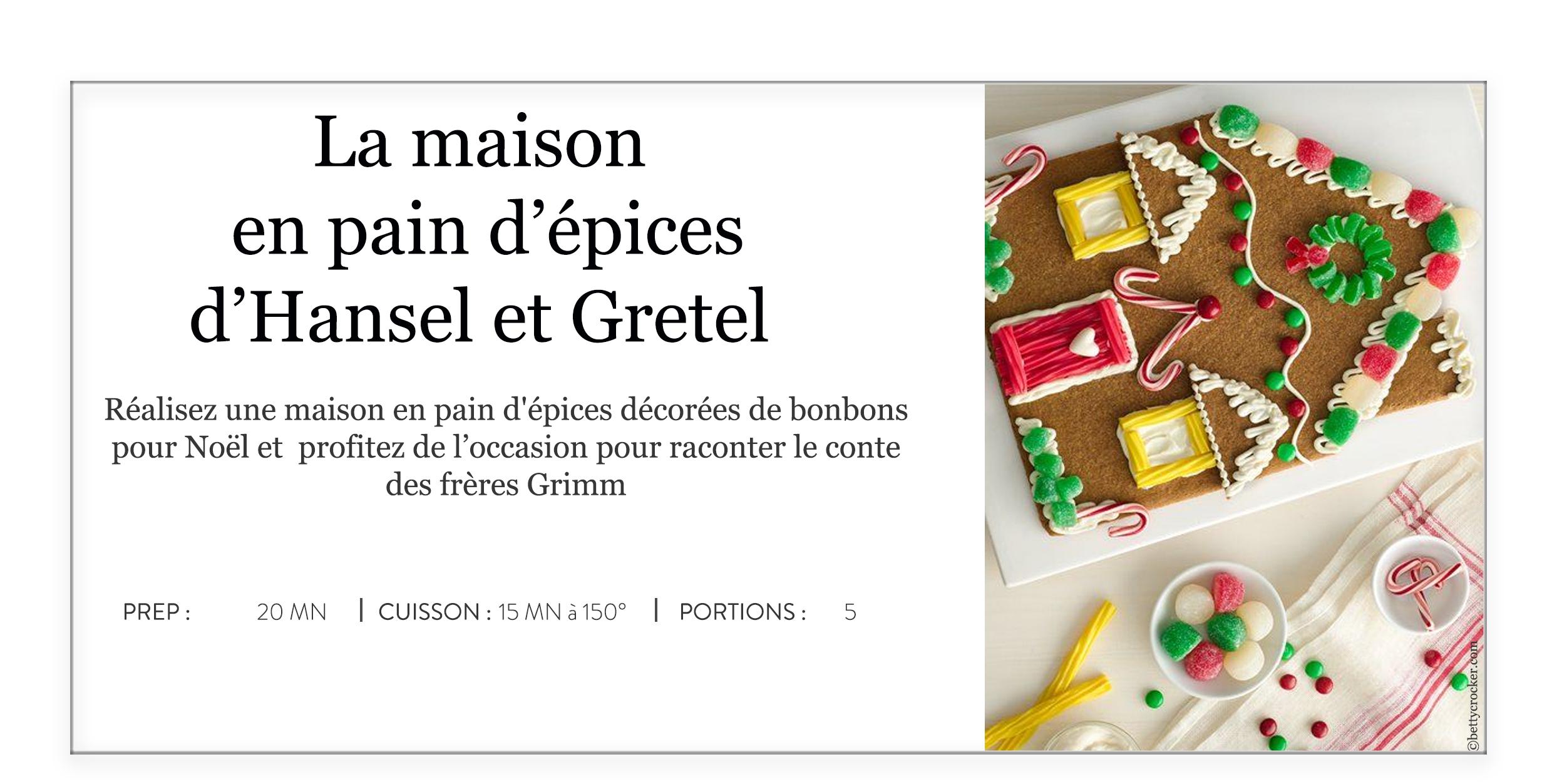 La Maison En Pain D Epices D Hansel Et Gretel Olivier Chaput Le