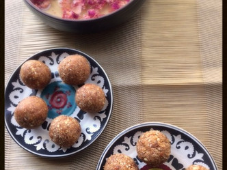 Day 9 Spread your power of positive energy with Date and fig Laddoos