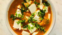 A Punjabi Jewel ...the Paneer, prepared at home, with Butter Masala