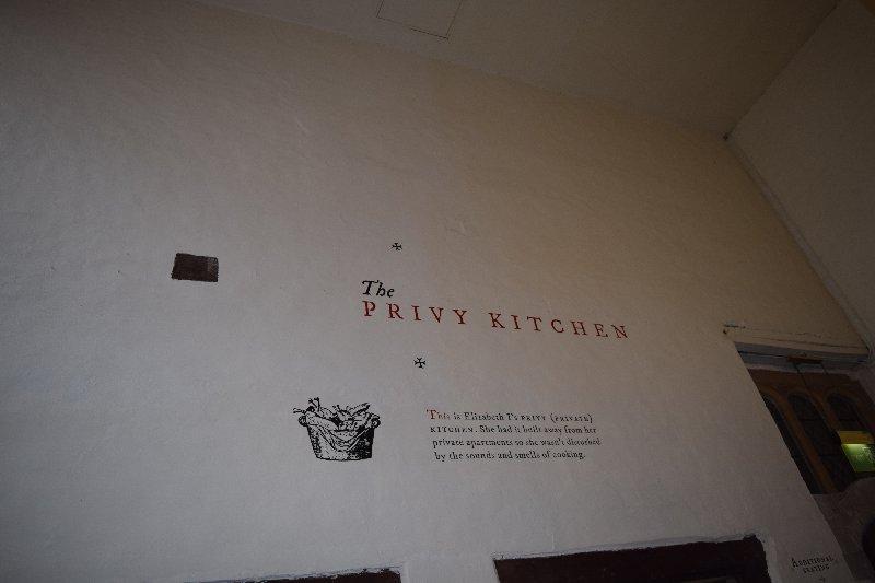 The Privy kitchen at Hampton Court