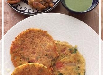 Savoury Pancakes,Street Snacks and Fritters..Mumbai Memories with My Grandfather