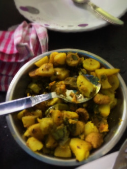 Charchari ,a bengali vegetable dish