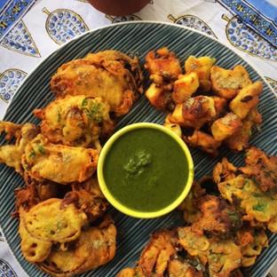 Rainy Day Pakoras and Masala Chai