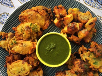 Rainy Day Pakoras and Masala Chai