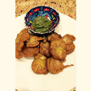 Day 5- Khira Pakoras or Cucumber fritters anyone?