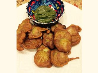Day 5- Khira Pakoras or Cucumber fritters anyone?