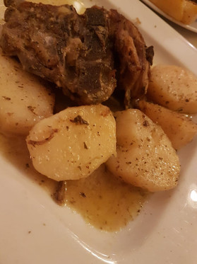 Traditional goat stew