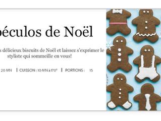 Les Spéculos de Noël : les petits biscuits à décorer