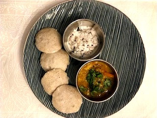 Healthy Millet Idlis for Breakfast ..