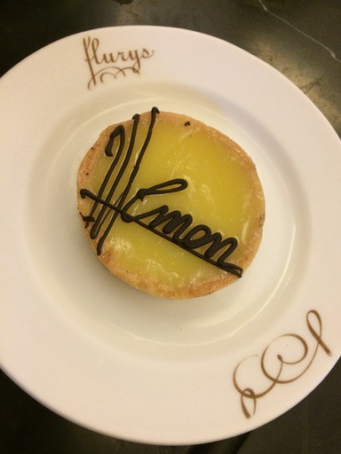 Lemon Tart at Flurys