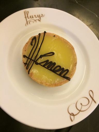 Lemon Tart at Flurys