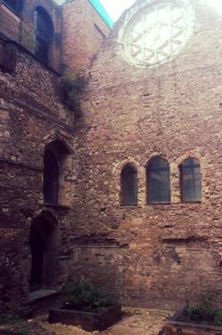 Ancient banquet hall...