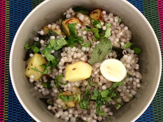 Day 7 - Sabudana khichdi or Sago Khichdi -Something light to start the day