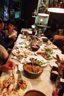 Dining at Dishoom