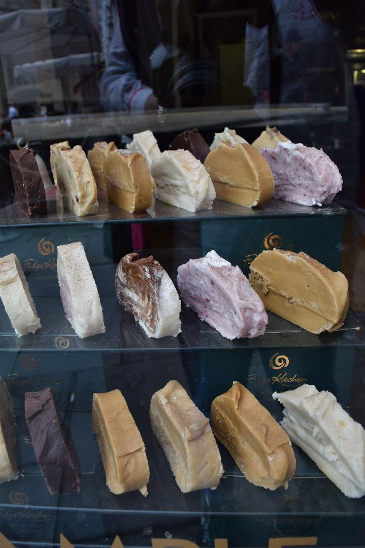 Yummy fudge at Fudge Kitchen, Bath