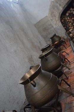 The Tudor kitchens