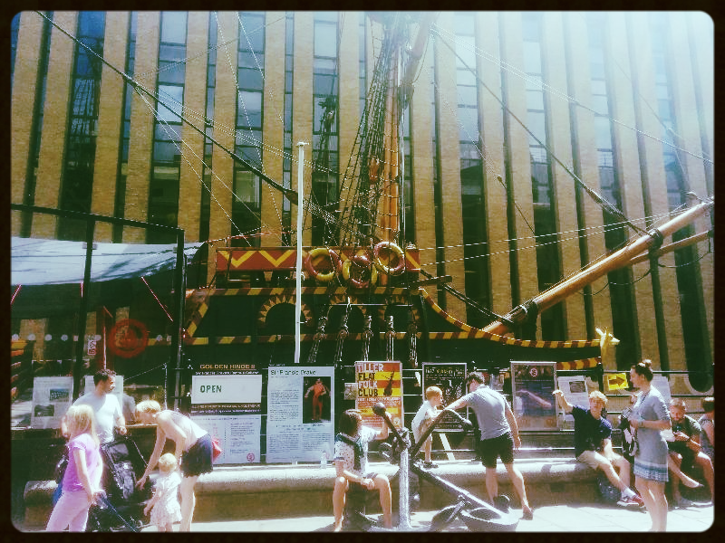 The Golden Hind ..