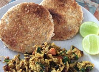Wake up with deliciousKhageena.. savoryscrambled eggs