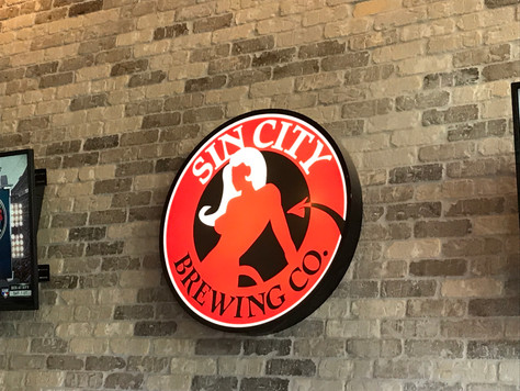 Toasting Sin City Brewing Company