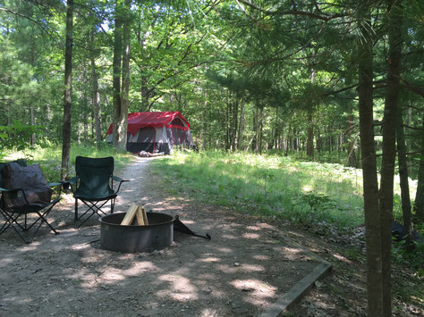 Camping at DH Day Campground