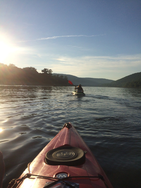 Paddling the Allegheny Reservoir