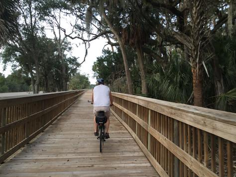Biking The Amelia Island Trail
