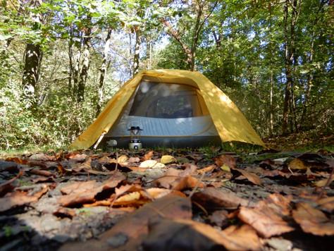 Camping at Bear Run Campground