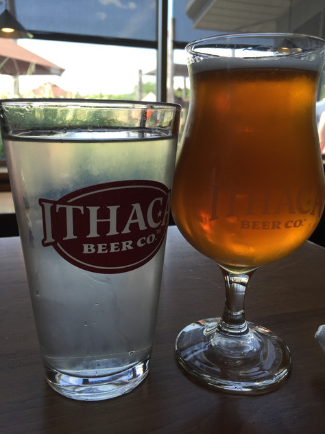Toasting Ithaca Beer Company