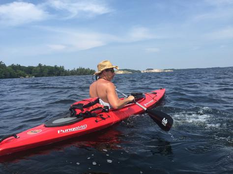 Paddling Hamlin Lake