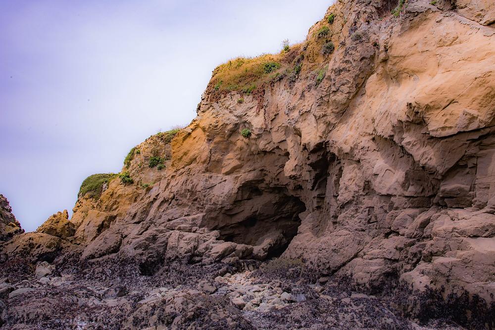 Rock formation Glass Beach