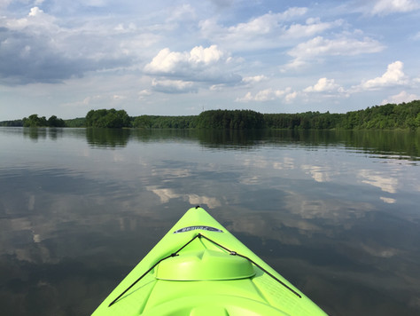 Paddling East Branch Reservoir Headwaters Park