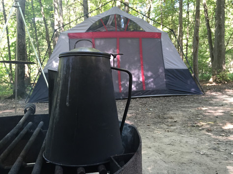 Camping at Mosquito Lake State Park