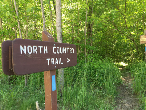 Hiking North Country National Scenic Trail, Allegheny