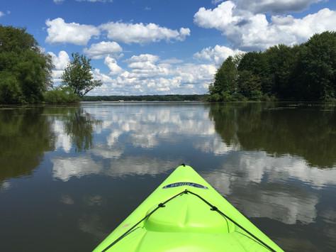 Paddling Mosquito Lake