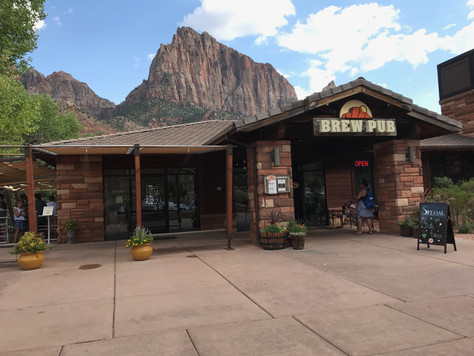 Toasting Zion Canyon Brewing Company
