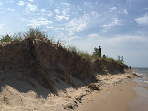 Exploring Little Sable Point Lighthouse