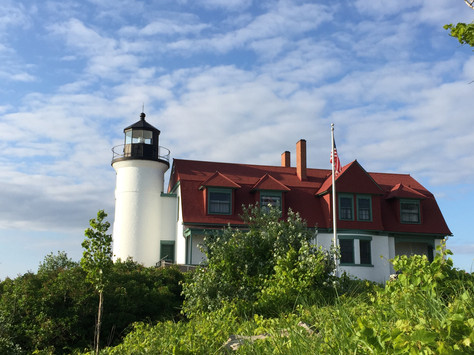 Exploring Betsie Point Lighthouse