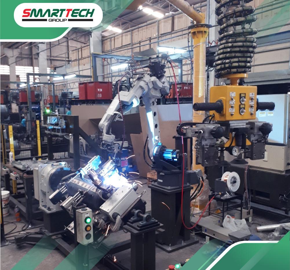 CT_SmartTech_งานรับออกแบบ ระบบหุ่นยนต์เช