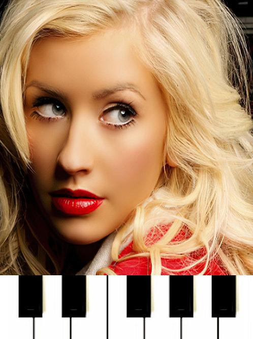 Alejandro Fernández - Hoy Tengo Ganas De Ti ft. Christina Aguilera Sheet Music
