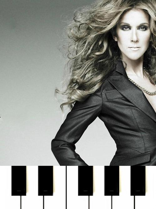 Céline Dion - Just Walk Away MIDI