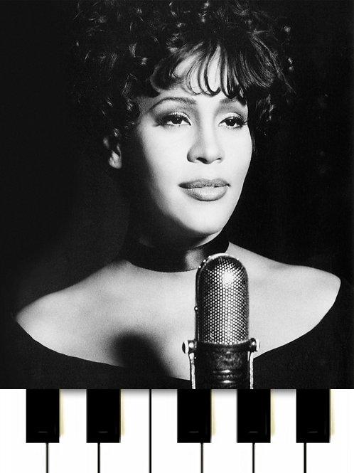 Whitney Houston - Saving All My Love For You MIDI