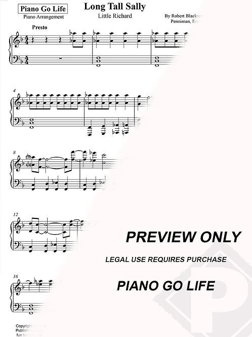 Little Richard - Long Tall Sally Sheet Music