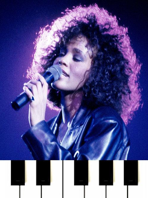 Whitney Houston - All The Man That I Need MIDI