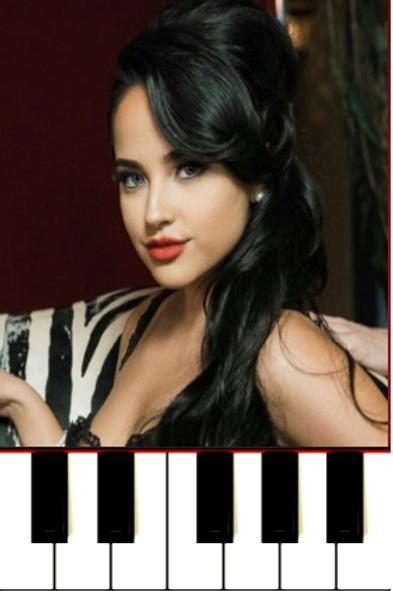 Sin Pijama Piano - Becky G Natti Natasha Sheet Music