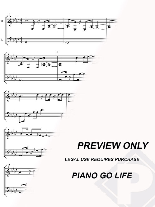 Lionel Richie - All Night Long Sheet Music