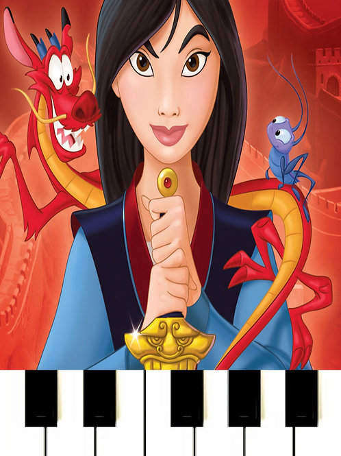 Mulan - A Girl Worth Fighting For Sheet Music