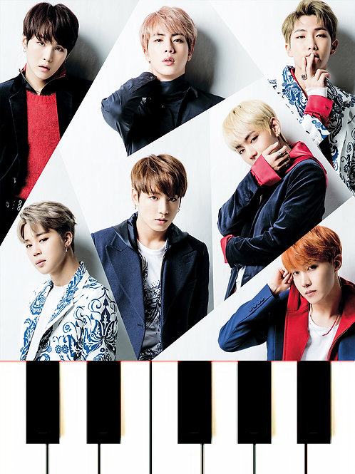 BTS - Jamais Vu Sheet Music